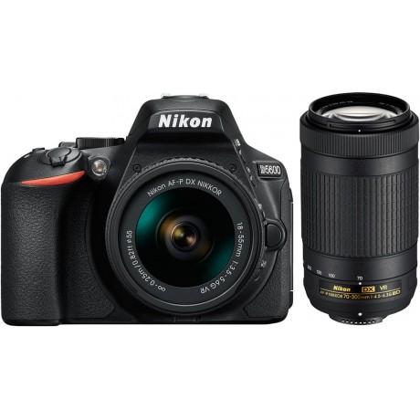 NIKON D5600 + AF-P 18-55MM F/3,5-5,6 G DX VR + AF-P 70-300MM F/4,5-6,3 G ED DX VR