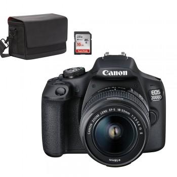 CANON EOS 2000D + EF-S...