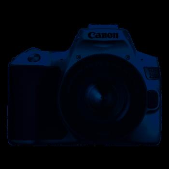 CANON EOS 250D BLANC + EF-S...