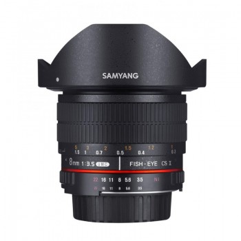 SAMYANG FISH-EYE 8MM F/3,5...