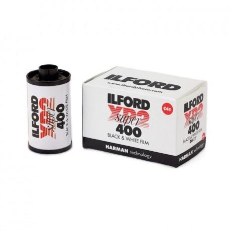 ILFORD PELLICULE XP2 SUPER 35MM 400 ISO 36 POSES PROCESS C-41 NOIR ET BLANC