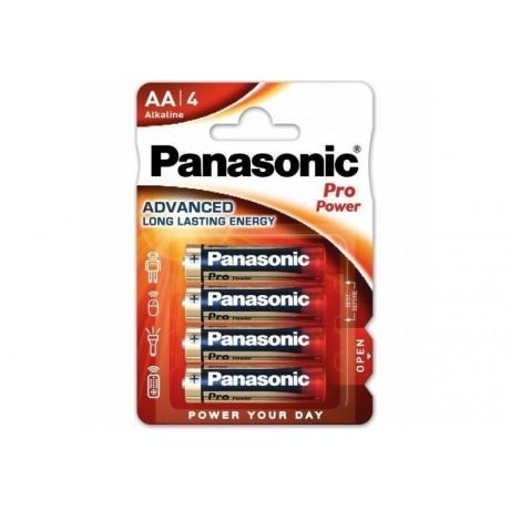 PANASONIC PRO POWER PILES ALCALINES AA/LR06 X4 3V