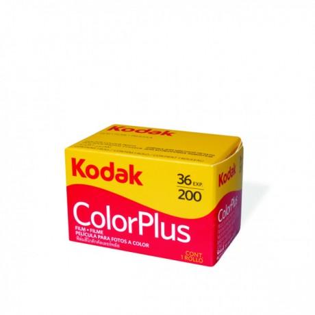 KODAK PELLICULE COLORPLUS 135MM 200 ISO 36 POSES COULEUR