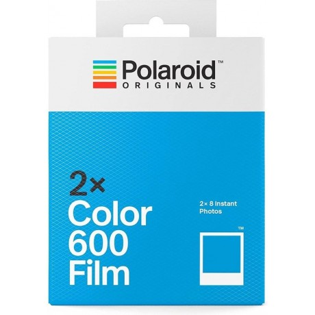 POLAROID FILM 600 2X8 VUES COULEUR